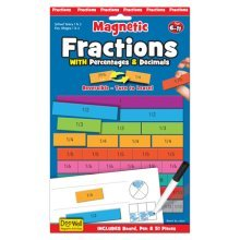 Fractions Magnetic Activity - Fiesta Crafts Decimals Percentages -  magnetic fractions fiesta crafts decimals percentages