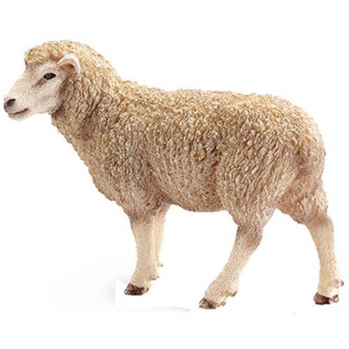 13743 Sheep Figurine, White