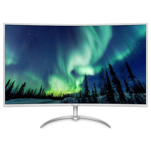 Philips BDM4037UW 40In Curved 4K Monitor -DP HDMI VGA