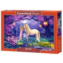 Csc103614 - Castorland Jigsaw 1000 Pc - Unicorn Garden