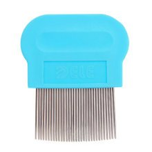 Pet Supplies Dogs Cats Grooming Dematting Tools Flea Combs Health Supplies -Blue