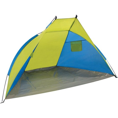 Yellowstone Beach Camping Shelter Tent (Blue/Lime)