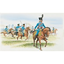FRENCH HUSSARS (NAP. WARS) - SOLDIERS 1:72 - Italeri 6008