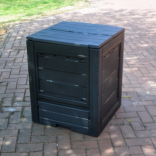 260L GARDEN COMPOSTER BIN ECO FRIENDLY ORGANIC RECYCLING COMPOST WASTE