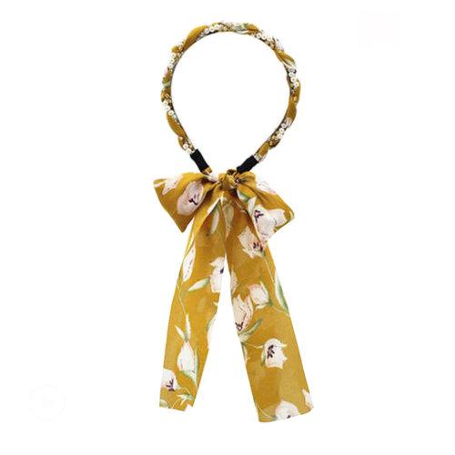 Sweet Girl Hair Ribbon Headband Headdress Hair Accessories [K]