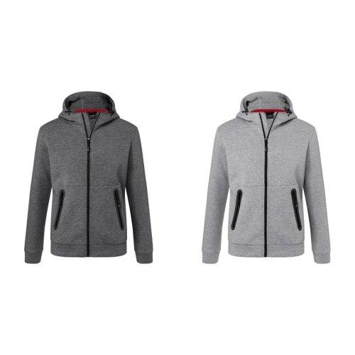 James and Nicholson Mens Adjustable Hooded Jacket