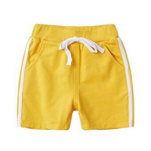 Baby Boy Short Pants Cute Short Pants for Summer Suitable for 120cm [E]