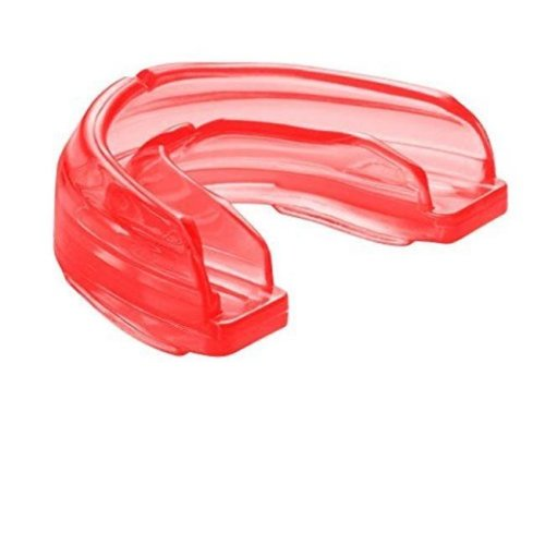 Mouthguard for Braces without Strap, Red - Adult