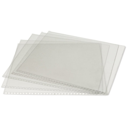 "Clear Protective Sleeves 5/Pkg-18""X24"""