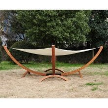 Outsunny Double Hammock Bed | Large Outdoor Lounger