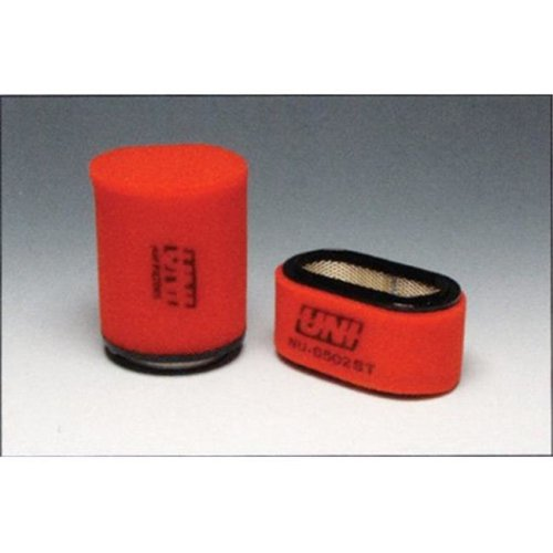 Uni-Filter NU-3214ST Multi-Stage Competition Air Filters for 2008-2013 Yamaha Rhino 700, Red