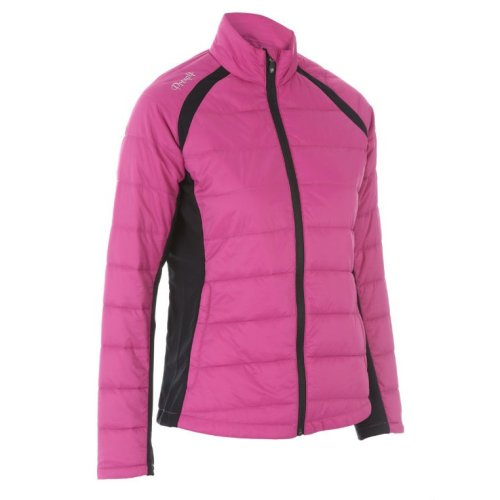 ProQuip Alexis Full Zip Ladies Therma Tour Quilted Jacket Rouge Small