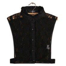 Simple Stylish Detachable Collar Fake Shirt Collar All-purpose Accessory for Women, L