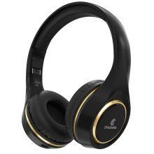 Chououkiu Bluetooth Wireless Headphones with Mic In-line Volume,
