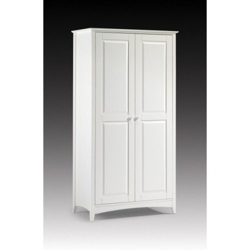 Treck White Stone 2 Door Wardrobe