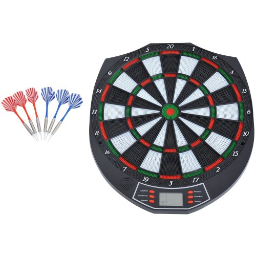 Homcom 18 Game Dart Board Set