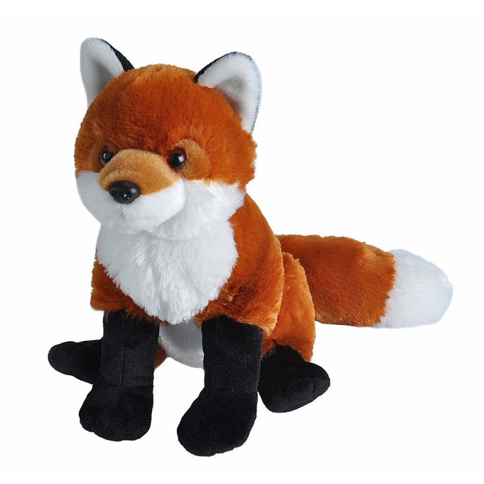 5159655ce280 Wild Republic Red Fox Plush Soft Toy, Cuddlekins Cuddly Toys, Gifts for Kids  30cm on OnBuy