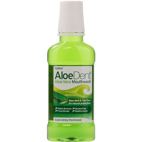Aloe Dent Aloe Vera Mouthwash & Vit K & Tea Tree 250ml
