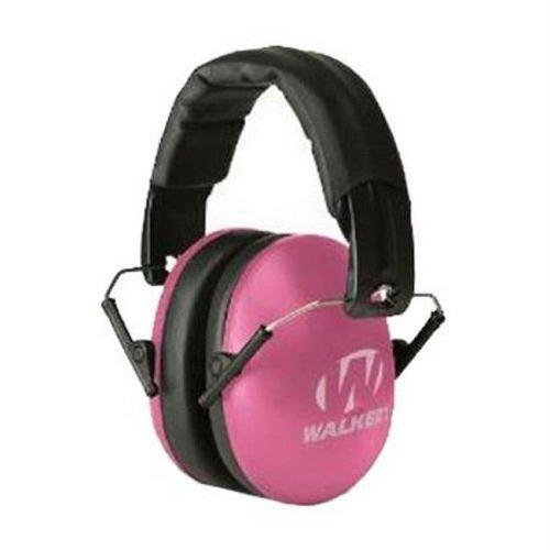 Walker Game Ear GWP-YWFM2-PNK Youth & Women Folding Muff Pink
