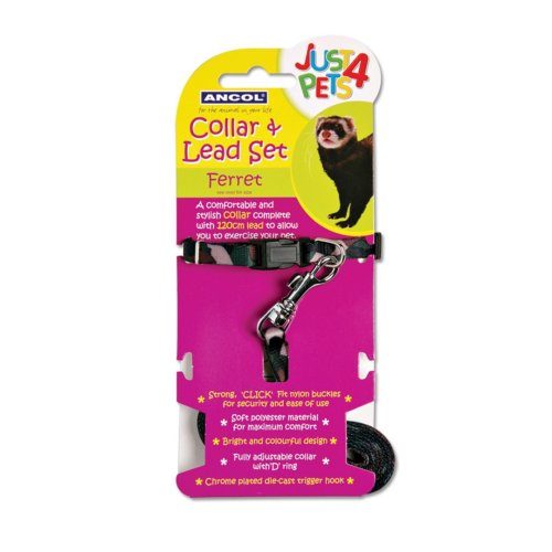 Just 4 Pets Ferret Collar & Lead Set