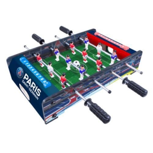 Paris Saint Germain Table Top Football Game - 20 Inch Official Fc Gift -  football table game paris saint germain 20 inch official fc gift