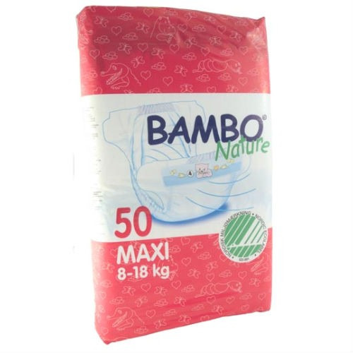 Beaming Baby Bambo Maxi Nappies 60's