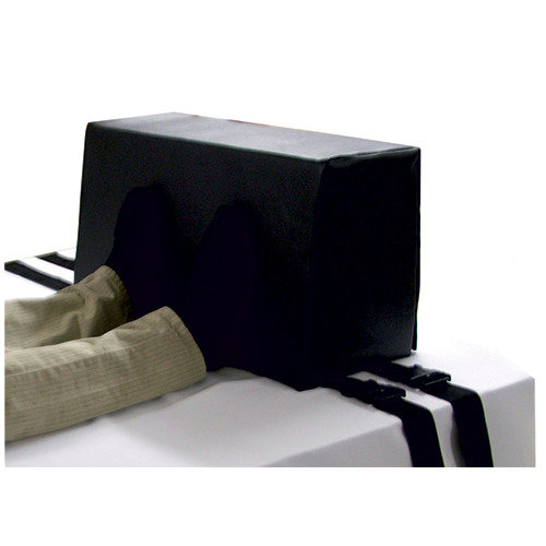 Vinyl Covered Bed Stop Foot Plate - Repositioning Aid