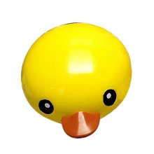 Elaborate Design Contact Lenses Cases Cute Yellow Duck Style Lenses Holder