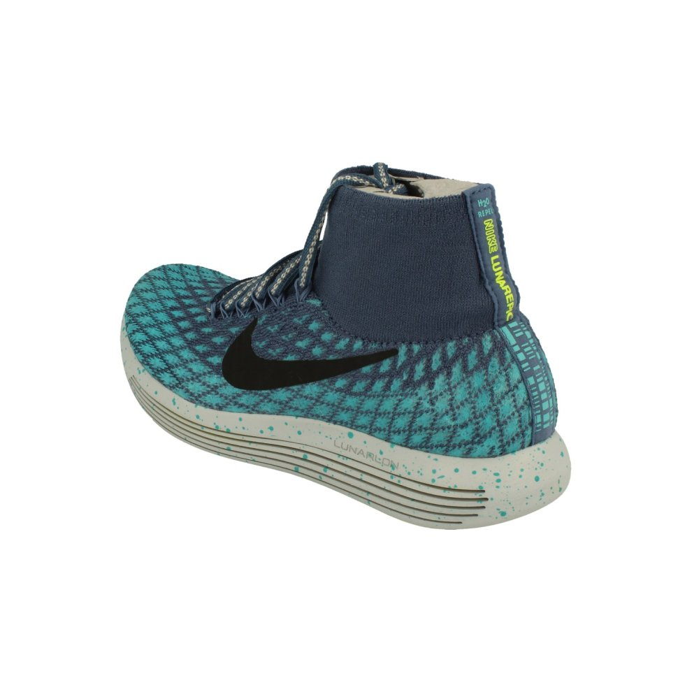 huge discount 4301e 3ee40 Nike Womens Lunarepic Flyknit Shield Running Trainers 849665 Sneakers Shoes