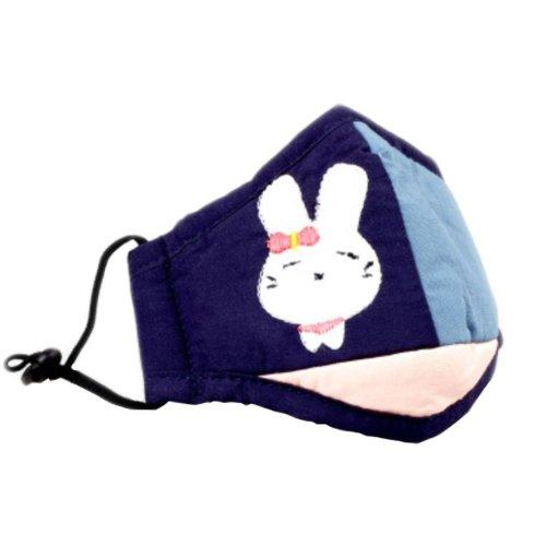 Cotton PM2.5 Anti-smog + N95 Activated Carbon Mask Children Masks Rabbit 04
