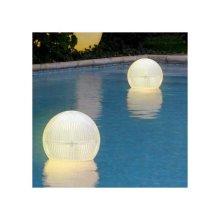 Spherical LED Solar Light Floating for the Pool or Garden Walkway GLOBE