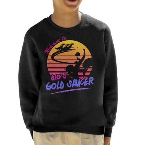 Dios Gold Saucer Kid's Sweatshirt