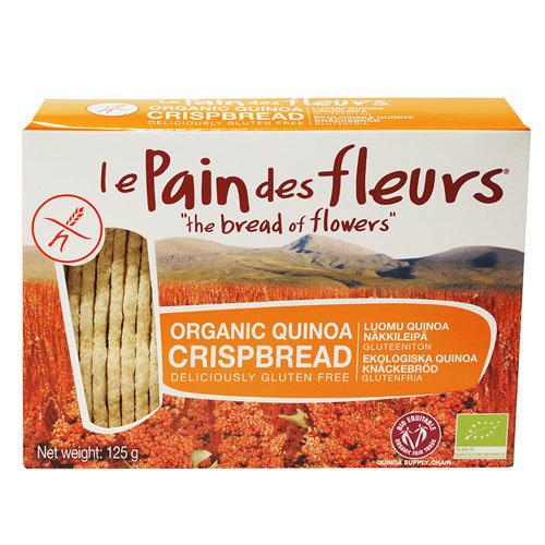Le Pain Des Fleurs  Quinoa Crispbread 125g x 6