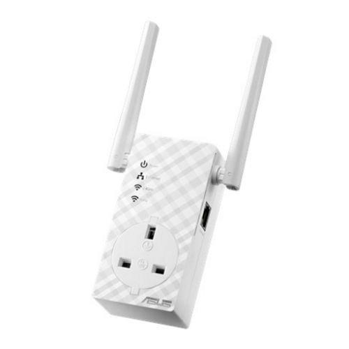 Asus (RP-AC53) AC750 (300+433) Dual Band 10/100 Range Extender/Access Point/Media Bridge, AC Pass Through