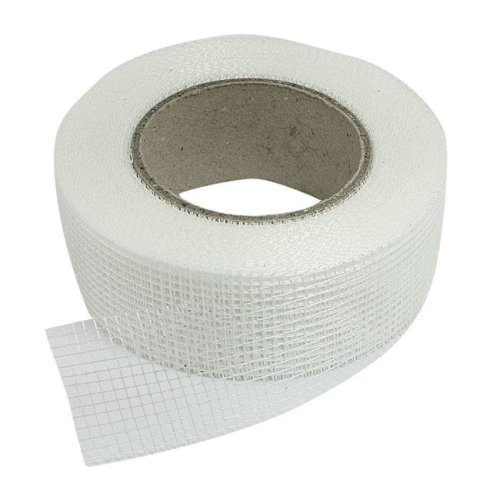 White - Self Adhesive Fiberglass Mesh Joint Tape for Cracks Holes