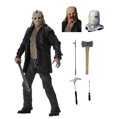 """NECA Friday The 13th 7"""" Scale Action Figure Ultimate Jason (2009)"""