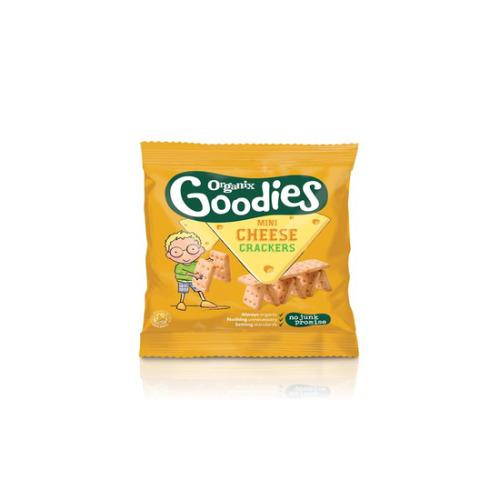 Organix Mini Cheese Cracker 20g