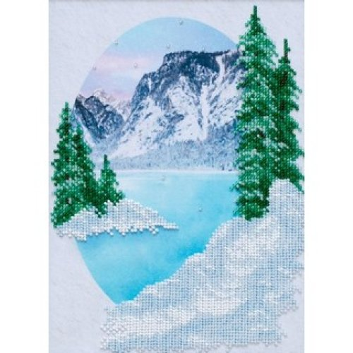 VDV Bead Embroidery Kit - Mountain Landscape