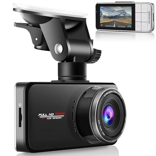 Modohe Car Dash Cam 1080P Car Camera, Car Video Recorder Camera Supercapacitor
