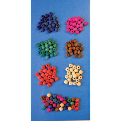 PBX2470201 - * Playbox - Wooden beads (Mix) -   10 mm - 200 pcs