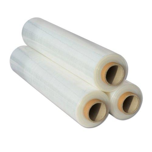 12x  Shrink Wraps Heavy Duty Clear Pallet Wrap Stretch Film 500mm x450m 23mu 3kg