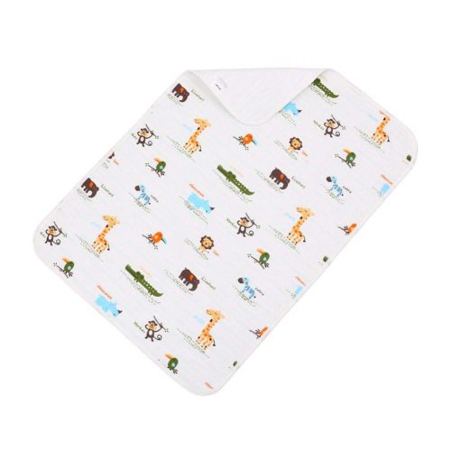 1 piece Baby Portable Diaper Changing Pad Washable Waterproof Baby Pad B, 70x100cm