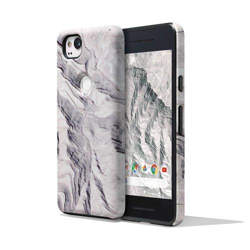 Google Pixel 2 Earth Live Landscape Photo Phone Case Cover Active Edge Compatible - Rock