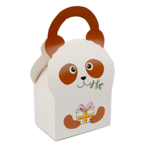 50PCS Cute Boxes WithHandle For Pack Candies,Nougat,OtherGift,in Party,Birthdays,and other Events,#B