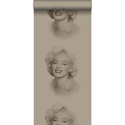 wallpaper Marilyn Monroe shiny bronze - 326351 - from Origin - luxury wallcoverings