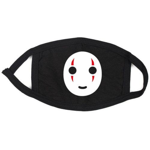 No Face Anime Logo Face,Mouth Mask