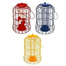 NEW MODEL Hanging feeder Squirrel Proof Guard Bird Fat Ball Seed Nut feeding GardenTray