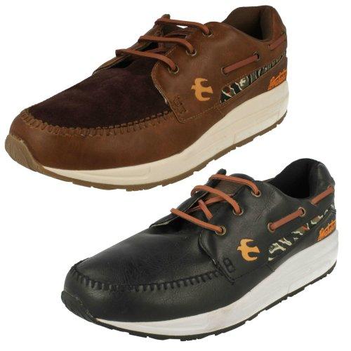 Mens Brakeburn Casual Lace Up Shoes Five Spoke