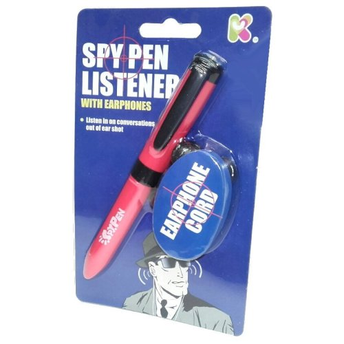 Spy Pen Listener Toy with Earphones - Fun Pocket Money Toy