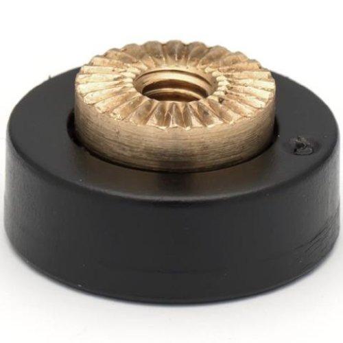 4 x Shower Door Rollers/Roller /Runners/Guides Flat Edge 17mm Wheel Diameter C1